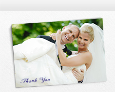 Wedding Thank You Cards W Photos From Your Big Day