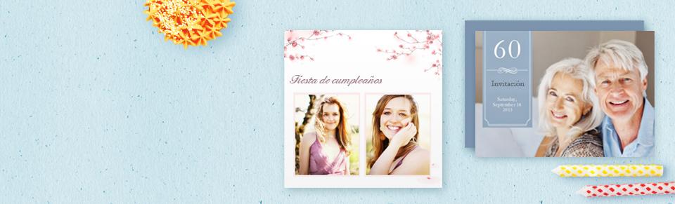 Invitaciones de cumpleaños personalizadas por ti - ¡Crea tu propia ...