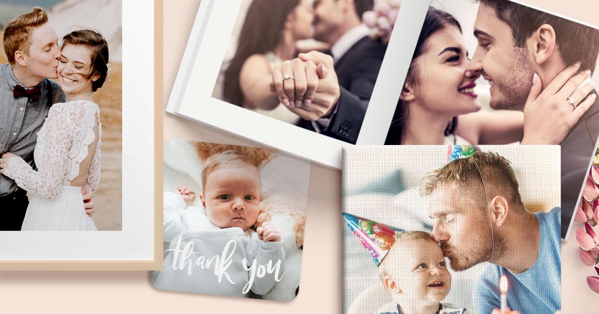 50 Off Personalised Wedding Thank You Cards Optimalprint